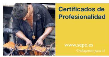 ¿Conoces los certificados de profesionalidad?